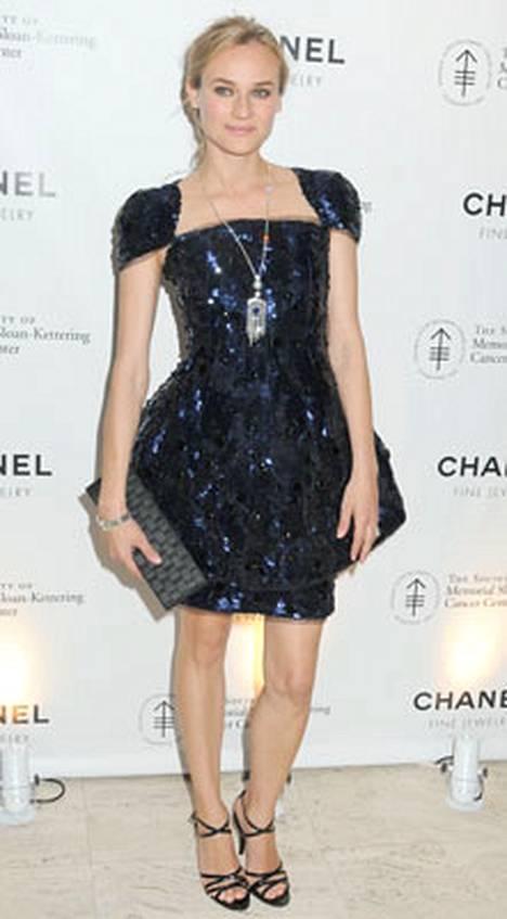 10. Myös näyttelijä-malli Diane Kruger pääsi People-lehden listalle.