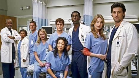 Sairaalasarja Greyn anatomia on ollut erittäin suosittu tv-draama jo yli vuosikymmenen ajan.