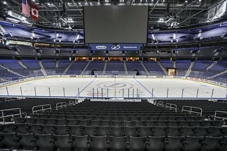 NHL-areenat hiljenivät maaliskuun puolivälissä.