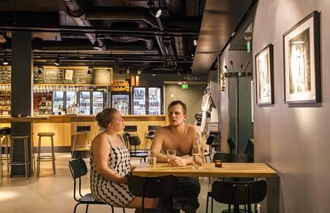 Helsingin saunatulokas Uusi Sauna sijaitsee Jätkäsaaressa.