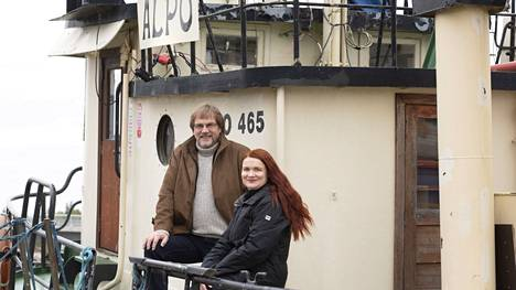 Martti Haapala ja tytär Meri Haapala ovat mukana hinaaja-Alpon kehittämistyössä.