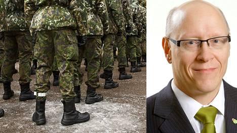 Vihreiden Jouni Vauhkonen ehdottaa valikoivaa asepalvelusta, pitkällä tähtäimellä myös sukupuolineutraalia ja vapaaehtoista armeijaa.