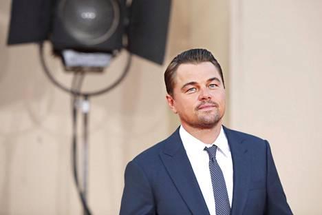 Näyttelijä Leonardo Dicaprio tunnetaan ilmastoaktivistina.