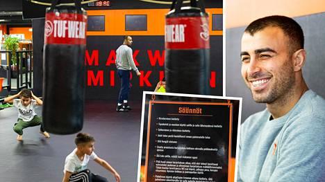 Vapaaottelija Makwan Amirkhani on myös yrittäjä.