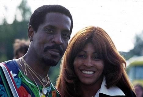 Ike ja Tina Turner Saksassa 70-luvun alussa.