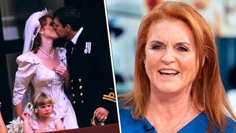 Fergie ja Andrew avioituivat vuonna 1986. Kuusi vuotta myöhemmin he erosivat.