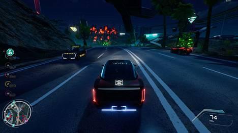 Autoilua on pelissä paljon. Ajotaitojen kehittyessä ajopelit käyvät järeämmiksi.