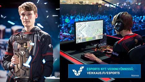 """20-vuotias Joona """"Serral"""" Sotala on ollut tänä vuonna täysin ylivoimainen StarCraftissa."""