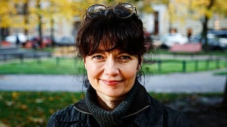 Kirsi Piha Helsingissä lokakuussa 2020.