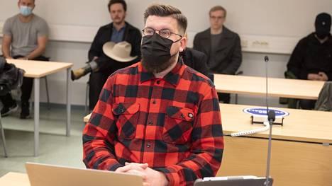 Sebastian Tynkkynen Oulun käräjäoikeudessa 21.9.2021.