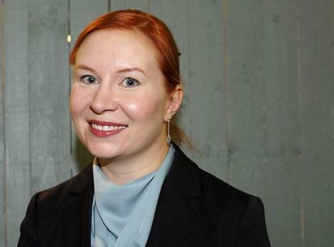Dekkaristi Vera Vala vieraili Helsingin kirjamessuilla lauantaina 26. lokakuuta 2013.