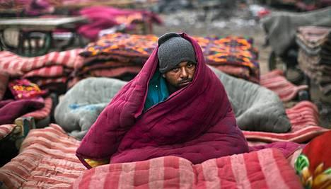 Delhissä on ollut tavanomaista viileämpää.