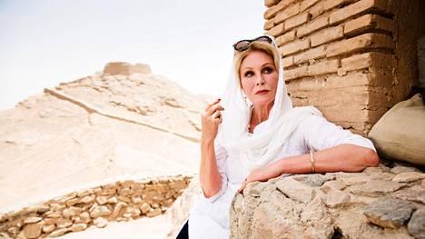 Joanna Lumleyn Silkkitie -sarja alkaa ke 10.6. Teema & Femillä ja Joanna Lumley Intiassa -sarja to 18.6. TV1:llä.
