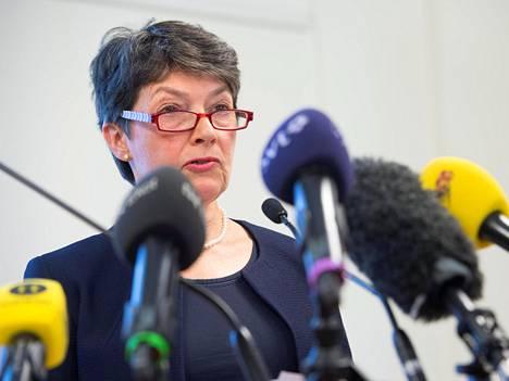Syyttäjä Marianne Ny kommentoi eilen Tukholmassa Assange-draaman uusia käänteitä.