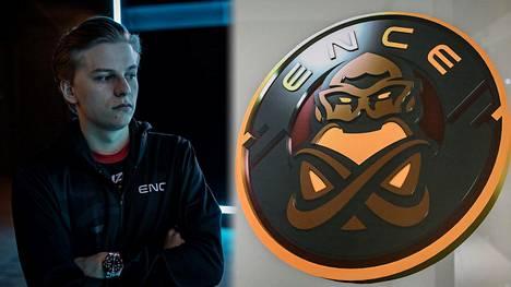 """Aleksi """"Aleksib"""" Virolainen pelasi syyskuun alussa viimeiset pelit ENCEssä. Hän oli poissa pelikentiltä kolme kuukautta ennen siirtoa OG-tiimiin."""