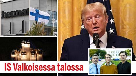 Yhdysvaltain presidentti esitti osanottonsa Kuopion kouluhyökkäyksen uhreille ja heidän omaisilleen.