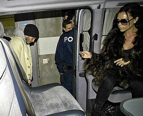 David ja Victoria Beckham vierailivat Turussa alkuviikosta.