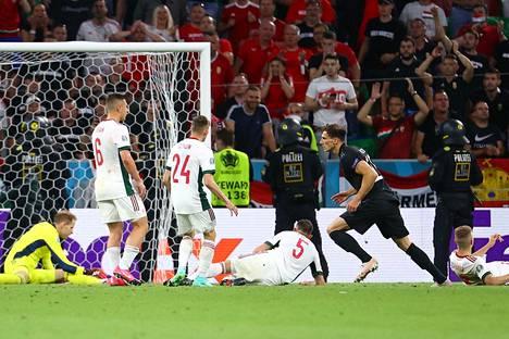 Leon Goretzkan tasoitusmaali 84. minuutilla Unkarin verkkoon pelasti Saksan kisat. Jalkapallojätti oli jo putoamassa jatkosta.