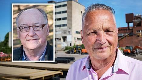 Kokoomus kaappasi Lasse Oksasen (pieni kuva) ja Matti Joen.