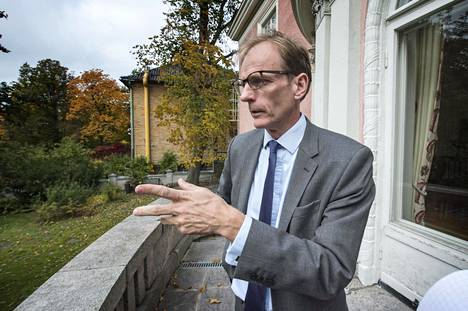 Britannian suurlähettiläs  Tom Dodd aloitti pestinsä  Suomessa vuonna 2018.