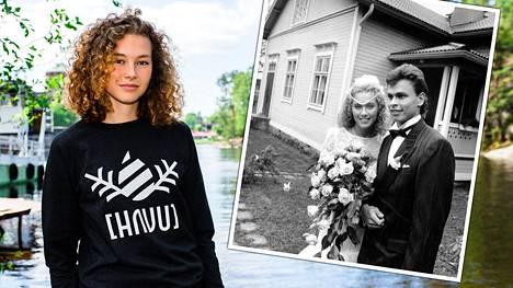 Korkeushypyn Suomen ennätyksen hypännyt Ella Junnila (vas.) on Ringa Ropon ja Juha Junnilan toinen lapsi. Esikoinen kuoli, kun Ella Junnila oli vauvaikäinen.