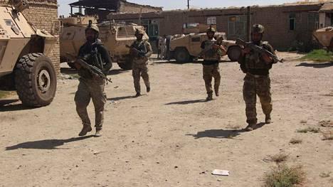 Afganistanin armeijan joukot osallistuivat Talebanin vastaiseen operaatioon Kunduzin kaupungissa perjantain.