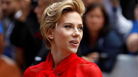 Näyttelijä Scarlett Johansson