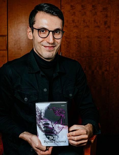 Pajtim Statovci on tuore kaunokirjallisuuden Finlandia-voittaja.