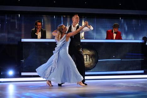 Krista Siegfridsin valssi keräsi ylistystä, vaikka hidas tanssi ei ole hänen mukavuusaluettaan.