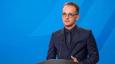 Saksan ulkoministeri Heiko Maas.