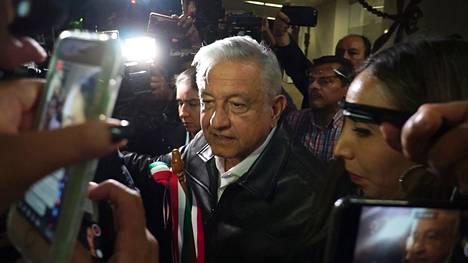 Meksikon presidentti Andres Manuel Lopez Obrador joutui kysymysten ristituleen.