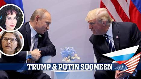 Donald Trumpin ja Vladimir Putinin tapaaminen Suomessa nostaa Helsingin valokeilaan. Senaatintorin mielenilmauksen puhujien joukossa ovat ainakin Sofi Oksanen ja Heidi Hautala (vihr).