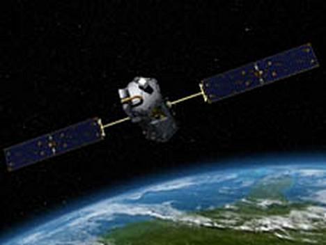 Tältä satelliitti olisi näyttänyt avaruudessa.