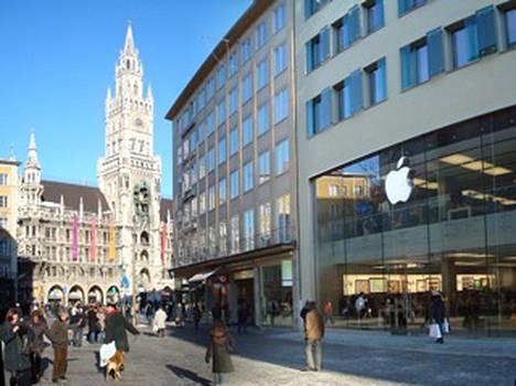 Myöhemmin tänä vuonna myös Saksan ensimmäisessä Apple Storessa Münchenissä ryhdytään korjaamaan asiakkaiden laitteita.