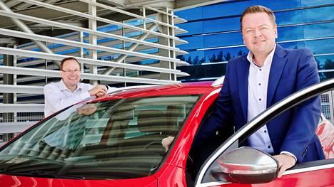 Timo Yli-Salomäki ja Sami Pöllänen starttasivat Honkin, koska heidän mielestänsä autokaupan on uudistuttava.