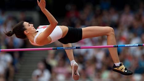 Jotkut venäläiset ovat saaneet kilpailla neutraaleina urheilijoina kansainvälisissä kilpailuissa. Korkeushypyn EM-kultaa voittanut Maria Lasitskene on yksi heistä.