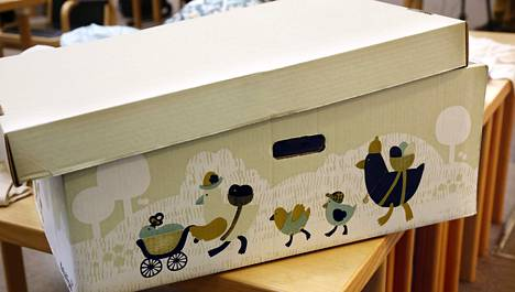 Suomalainen äitiyspakkaus (kuvassa) innosti uusiseelantilaisia kehittelemään vastaavanlaisen paketin.