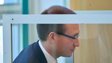 Tapauksen syyttäjä Philipp Boegner oikeudenkäynnissä torstaina.