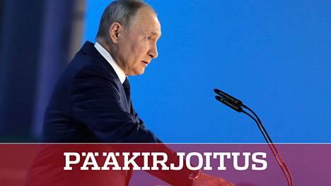 Vladimir Putin pitää Venäjän naapureita jännityksessä puheissaan. Keskiviikko ei ollut poikkeus.