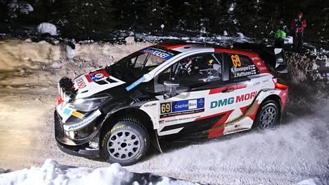 Kalle Rovanperä ajoi hienosti, mutta Toyotan odotettiin olevan nähtyä kilpailukykyisempi Lapin lumilla.