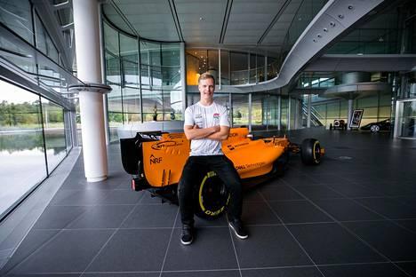 McLarenin tehdas on tullut Pahkalalle tutuksi.