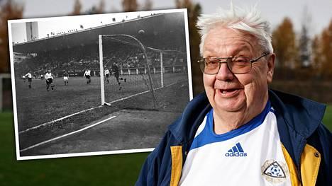 Vantaan Korsosta kotoisin oleva Aulis Joronen on matkustanut Huuhkajien matkassa ympäri Eurooppaa. Ensimmäisen Suomen jalkapallomaajoukkueen pelin hän näki vuonna 1952 Helsingin olympialaisten yhteydessä.
