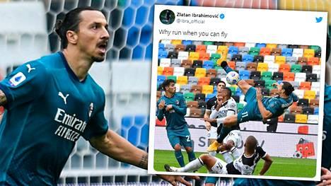 Zlatan Ibrahimovic todellakin lensi – ja ratkaisi.