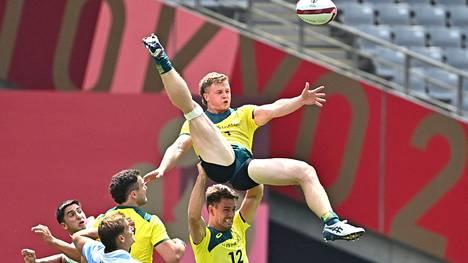 Australian rugbyjoukkueen ottelut Tokiossa päätyivät puolivälierätappioon Argentiinaa vastaan. Se ei kuitenkaan estänyt joukkuetta ottamasta iloa irti kilpailuista.