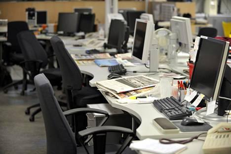 Kiinteistöalan konsultit niin Suomessa kuin ulkomaillakin ovat arvioineet, että toimistojen kysyntä heikkenee jossain määrin.