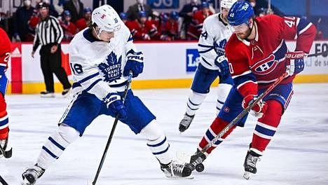 Toronto ja Montreal mittelevät pudotuspelien ensimmäisellä kierroksella.