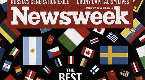 Lehtivanhus Newsweek saattaa lopettaa printtiversionsa.