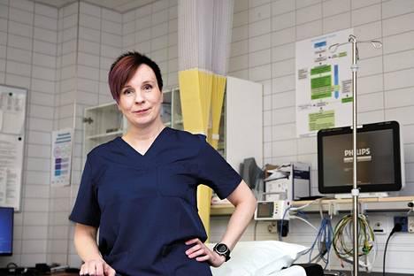 Hoitovelan kasvamiseen liittyy aina inhimillisen kärsimyksen lisäksi riski sairauden pahentumisesta odotusaikana. Näin toteaa Kanta-Hämeen sairaanhoitopiirin johtajaylilääkäri Sally Leskinen.