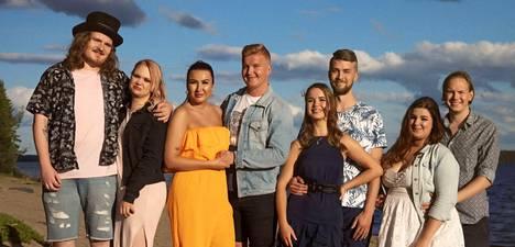 Temptation Island Suomen kahdeksannen kauden pariskunnat.