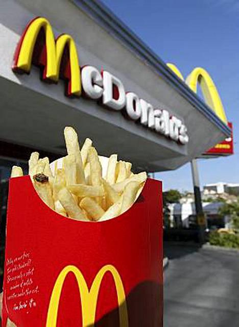 McDonalds haluaa olla homoystävällinen ravintola.